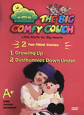 The Big Comfy Couch - Growing Up/Dustbunnies Down Under (DVD)