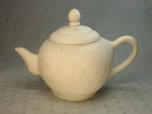 Antique Chinese Qing Marble Tea Pot