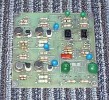One Ward Beck 8-109 booster amp card, removed from working console...PERFECT!!