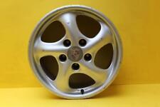 """2002 Porsche 911 996 986 Boxster 17"""" Rear Alloy Wheel Rim 99636212605"""