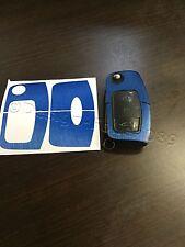 blu spazzolato Pellicola Chiave Ford MK2 GALAXY C S FIESTA SMAX CMAX RS pezzi
