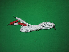 Tens wires 2.5mm plug and 2mm 4 pin