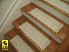 """NFSI High Traction - Vinyl Stair Tread Sets - Gray (39) -  24"""" x 8"""""""