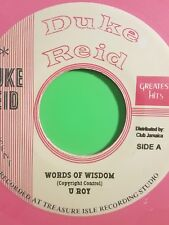 DUKE REID WORDS OF WISDOM  / TREASURE ISLE U ROY
