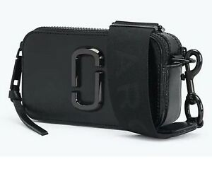 Marc Jacobs Snapshot Small Camera Bag DTM Black/Logo  Crossbody