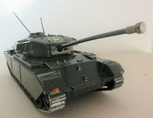 BRITAINS LTD 1960's LARGE SCALE US ARMY CENTURION TANK WITH STAR DIECAST MODEL