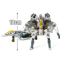 HZX h606 Movie Starscream Deformable 7in Action Figure Robot Kids Child Gift Toy