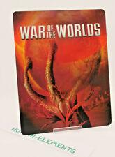 WAR OF THE WORLDS - Lenticular 3D Flip Magnet Cover FOR bluray steelbook