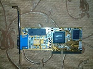 INNO3D S3 VIRGE MX 260 Rev 1.1 4MB AGP Graphics adapter Tested
