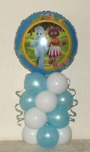 IN THE NIGHT GARDEN - FOIL BALLOON DISPLAY - TABLE DECORATION - NO HELIUM NEEDED