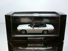 MINICHAMPS 130430 JAGUAR XJS CONVERTIBLE 1988 - WHITE 1:43 - EXCELLENT IN BOX
