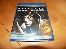 FIRST BLOOD RAMBO SYLVESTER STALLONE RICHARD CRENNA BLU-RAY DISC SEALED NEW