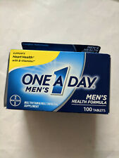 One A Day Complete Men's Health Formula Multivitamin Tablets 100 count