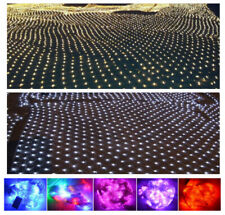 220V EU Plug 1.5M,2X3M,4X6M LED net light fairy christmas xmas party lights