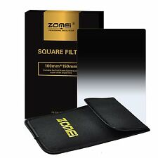 Zomei 4X6in. 150X100mm Gradual ND GND16 Square Filter for Cokin Z Lee Camera
