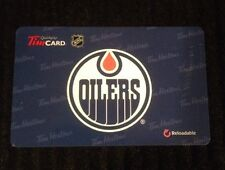 2014 TIM HORTONS NHL EDMONTON OILERS GIFT/TIM CARD NEW