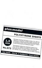 Plus Model - Plastik Platten 1 mm 1mm 110-190mm 2 Stück NEU OVP Tipp for kit 1,0