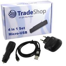 4in1 Ladegerät Ladekabel Kfz Set für Samsung Chat 222 GT-E2220