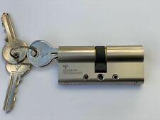 Door Lock Cylinder Euro Anti Snap Bump High Security Barrel  35/35 Anti-drill