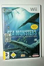 SEA MONSTERS PREHISTORIC ADVENTURE GIOCO USATO NINTENDO Wii ED ITA PAL MG1 46014