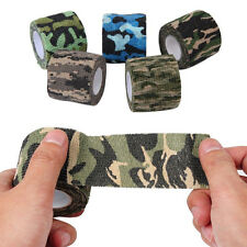 Army Camo Wrap Hunting Camouflage Stealth Waterproof Tape Outdoor 5CMx4.5M