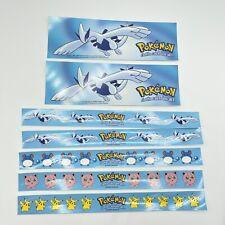 VTG Pokemon Rare Retail Display Collectable Pikachu Jigglypuff Lugia Marill 2000