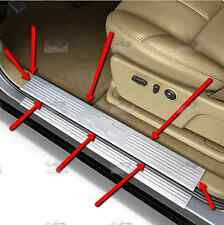 17802520 GM Stainless Door Sill Plates for Crew Cab Silverado,Avalanche,Suburban