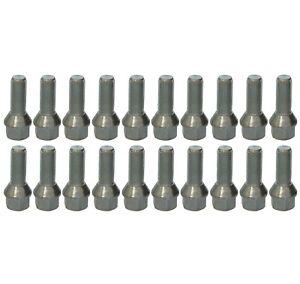 20 x Radschrauben Kegelbund M12 x 1,25 x 26 SW17 Radbolzen für Alufelgen Kegel