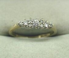 Cubic Zirconia Eternity Yellow Gold Fine Rings