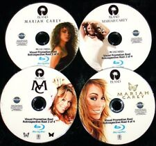 MARIAH CAREY Visual Promotion Reel 4 BLU-RAY DVD Set 83 Music Videos FREE SHIP