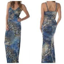 Sky Brand S Cobalt Blue Cut Out MAHER Maxi Dress-$262.00-Small