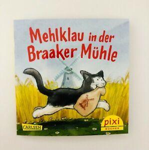 """PIXI Buch """"Mehlklau in der Braaker Mühle""""Sonderausgabe 2021 Selten RAR NEU"""