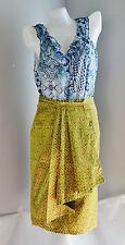 Thai silk traditional Women's Clothing dress fashion draped ruffle skirt11