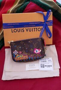 NWT Louis Vuitton Vivienne Monogram Mini Pochette Accessoires M69752 SOLD OUT!