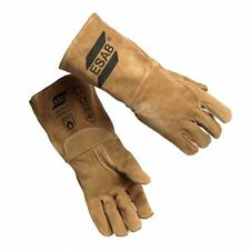 ESAB TIG Welding Gloves Soft.High quality Tig Gloves Gauntlet.Esab Sweden