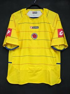 2004-05 Colombia Home Jersey Soccer Shirt 100% Official