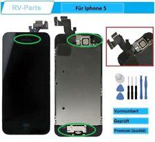 Display für iPhone 5 LCD mit RETINA Glas Scheibe KOMPLETT VORMONTIERT Schwarz