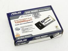 ASUS WL-106gM  240 MIMO Wireless Adapter PCMCIA WiFi 240Mbps 90-I8S002E00-01PZ