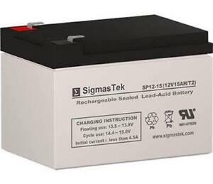 CSB EVH12150F2 Battery Replacement - 12V 15AH SLA AGM