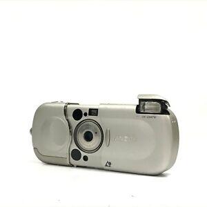 Minolta Vectis 2000 Silver 22.5-45mm Point & Shoot APS Film Camera EXC TK07A