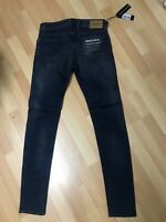 NWD MENS Diesel SLEENKER LYOCELL Stretch Denim 085AE DARK BLUE Slim W31 L32 H6