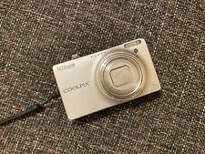 Nikon COOLPIX S6000 Digital Camera With Box -  14.2 MP - 7x zoom - silver