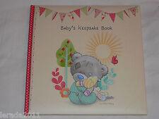 BABY'S KEEPSAKE BOOK TINY TATTY TEDDY JOURNAL BABY MEMORIES BABYS ME TO YOU