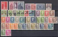 BG5885/ DENMARK – 1937 / 1951 MINT SEMI MODERN LOT