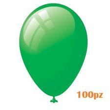 Set 100 Pezzi Palloncini Colore Verde Feste Compleanni Party Bambini moc
