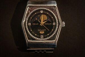 "Vintage Seiko 5 Automatic ""Moon Phase"" Cal 6347-6000"
