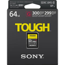Sony Tough Professional SDHC - Sf64tg