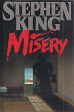 "STEPHEN KING ""Misery"" SIGNED FIRST Inscribed ""Best Wishes From Your #1 Fan"""