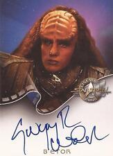 """Star Trek Cinema 2000 - A9 Gwynyth Walsh """"B'Etor"""" Auto/Autograph Card"""