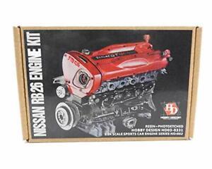 1/24 Nissan GT-R RB26 Engine Full Detail Up Kit R34 Hobby Design HD03-0331